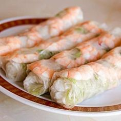 Similar to a salad that has been rolled up, this dish is usually eaten as a snack, although it also makes a lovely lunch.