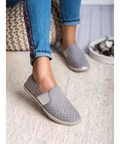 MCKEYLOR SEMIŠOVÉ SLIP ONY Slippers, Slip On, Flats, Sneakers, Shoes, Fashion, Loafers & Slip Ons, Tennis Sneakers, Sneaker