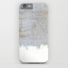 Painting on Raw Concrete iPhone & iPod Case