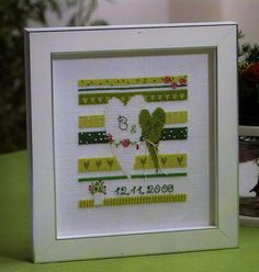 scandinavian stitches - wedding - cross stitch