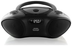 Bluetooth Boombox with CD player and FM