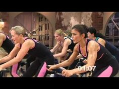 Makes me want a spin bike!! Cathe Friedich's XTrain Ride