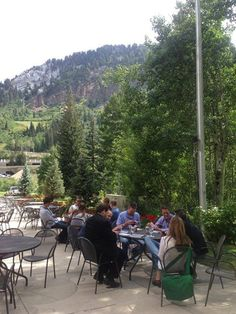 Not a bad setting for critical questions during our Relationship Summit at Snowbird.  #corpalliance #relationshipsummit
