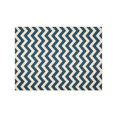 Safavieh Courtyard Zigzag Chevron Indoor Outdoor Rug, Blue, Durable #OutdoorRugs