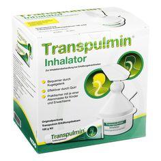 TRANSPULMIN Erkältungsbalsam + Inhalator