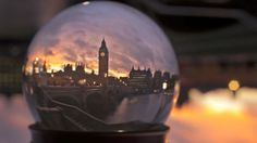 A Time Lapse of Canada and England, As Seen Through a Snow Globe