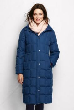 Women s Down Chalet Long Coat from Lands  End Cold Weather Outfits 423fe0dd7b04