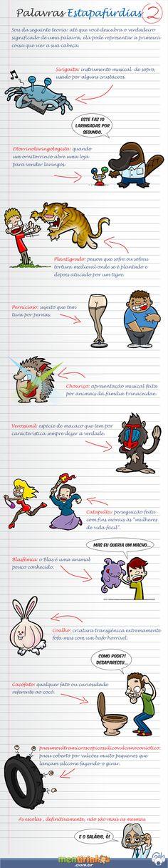 Palavras Estapafúrdias #2   Mentirinhas - Tirinhas do Coala