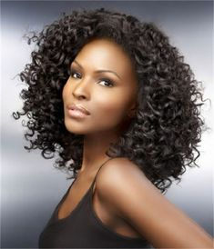 Curly weave short hairstyle is the best idea for pretty ladies. If you like this style of hair, this article of Beautiful Short Curly Weave Hairstyles Short Curly Weave Hairstyles, Curly Crochet Hair Styles, Hairstyles With Bangs, Curly Hair Styles, Natural Hair Styles, Hairstyles Pictures, Natural Beauty, Black Hairstyles, Celebrity Hairstyles