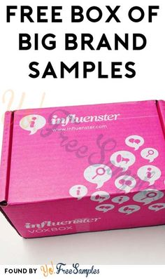 Check Emails For Skincare Sample Box: FREE Box Of Big Brand Samples From Influenster's VoxBox Program [Verified Received By Mail] - Yo! Free Samples Without Surveys, Free Samples By Mail, Free Sample Boxes, Free Boxes, Free Beauty Samples, Free Makeup Samples, Stuff For Free, Free Stuff By Mail, Coupons For Free Items