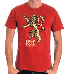 T-shirt Game Of Thrones - Hear Me Roar. Sous licence officielle Game Of Thrones T-shirt Game Of Thrones - Hear Me Roar Col rond Manches courtes Sérigraphie r. Dc Comics, Game Of Thrones, Captain America, Officiel, The 100, T Shirt, Boutique, Licence, Mens Tops