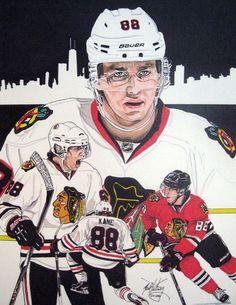 cd2fae2f5d7 Patrick Kane marker drawing done in 2013. Kirk Gillespie · Chicago  Blackhawks