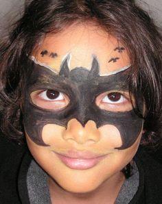 Face Painting - The Best Children's Parties in Bali! Cute Halloween Makeup, Halloween 2014, Halloween Bats, Holidays Halloween, Halloween Make Up, Halloween Ideas, Halloween Costumes, Bat Makeup, Animal Makeup