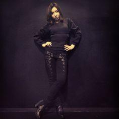 MINZY @_minzy_mz | #backstage #Alexanderwang ️