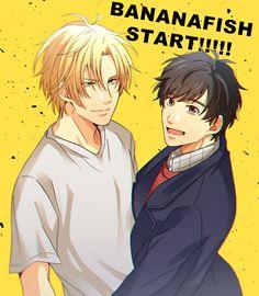Ash & Eiji - Banana Fish