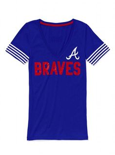 Victoria's Secret FINALLY got the Atlanta Braves in their MLB collection.  I was THIS close to buying this yesterday.  Kinda wish I had.  Maybe I still will.