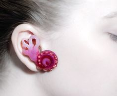 Emily Cobb 'Ursula's Envy: The Diagnosis' (2011) earpiece, photopolymer and silicone