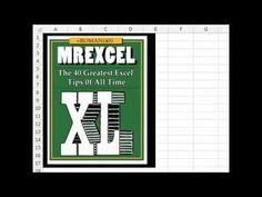MrExcel XL Book - 40 Greatest Excel Tricks   Indiegogo