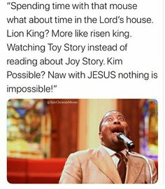Busy watching 101 Dalmatians while you should be reading the book of Lamentations? Funny Christian Memes, Christian Humor, Lamentations, Kim Possible, 101 Dalmatians, Toy Story, The Book, Lord, Reading