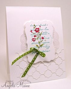 Cherish and Inspire by Arizona Maine - Cards and Paper Crafts at Splitcoaststampers