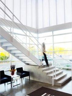 Pentaglas /  Quadwall  polycarbonate daylighting panels and concrete floor