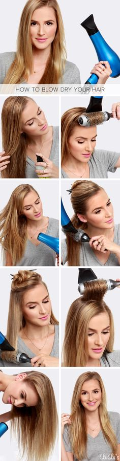 The Perfect Blow Dry Hair Tutorial