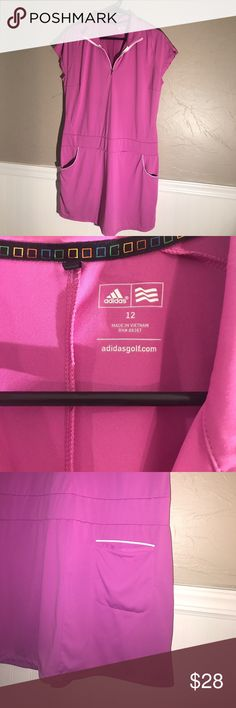 Adidas Golf or tennis Dress NWOT Adidas Golf Dress • NWOT • half zip • cap sleeves • pockets • no trades adidas Dresses