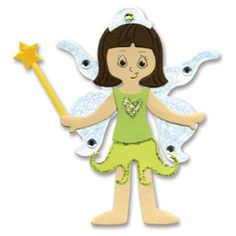 Sizzix Bigz Die - Dress Ups Fairy Princess Costume
