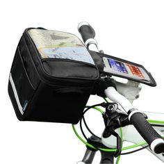 Roswheel Bicycle Handlebar Bag With Map Holder Http Www