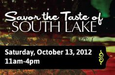 Victor Caballero: TASTE OF SOUTH LAKE JOINS ART WEEKEND AND CELEBRATES THE ART OF FOOD!