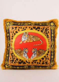 Have the chicest pillow fight ever with our collection of vintage Versace cushions!