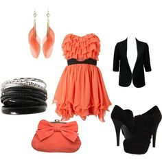 Looove the tangerine color