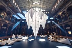 The Building Museum Transforms Itself Into A Glacial Ice Field | Co.Design | business + design