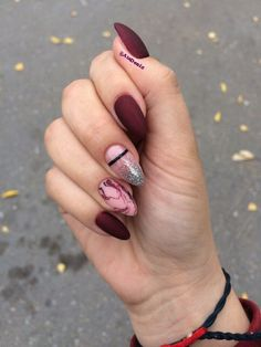 Discover new and inspirational nail art for your short nail designs. White Gel Nails, Cute Acrylic Nails, Cute Nails, Pretty Nails, Purple Manicure, Burgendy Nails, Oxblood Nails, Magenta Nails, Nails Turquoise