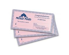 Pin for Later: 50 Brilliant Christmas Gifts For Mums  Molly Maid cleaning services vouchers (starting at £75)