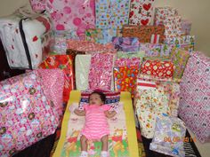Claire One Month Gifts..
