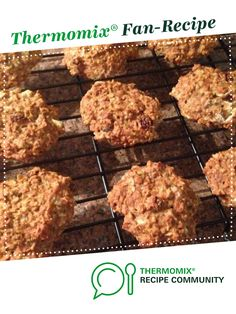Recipe Toddler - Apple & Sultana Cookies by CassieFox, learn to make this recipe easily in your kitchen machine and discover other Thermomix recipes in Baking - sweet. Baby Food Recipes, Sweet Recipes, Cooking Recipes, Toddler Food, Toddler Meals, Recipe Community, Food N, Finger Foods, Banana