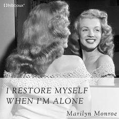 Yalnız olduğumda kendimi yenilerim... #hibboux #lifestyle #dream #life #style #bed #marilynmonroe