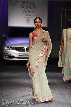 Meera & Muzaffar Ali designer saree