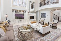 Give us your BEST reaction for this stunning living space!