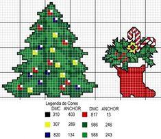 Christbaum und Weihnachtsstiefel