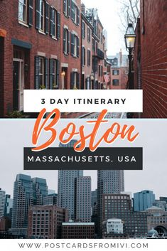 What to do in 3 days in Boston #Boston #USA #Massachusetts #itinerary Usa Travel Guide, Travel Usa, Travel Guides, Travel Tips, Globe Travel, Travel Advice, Places In Usa, Places To Travel, Travel Destinations