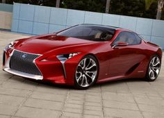 Lexus LF-Lc give Get's Biggest Changes on Lexus History