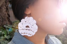 Earrings Diy Ideas How To Diy Lace Earrings Out Of Old Dress