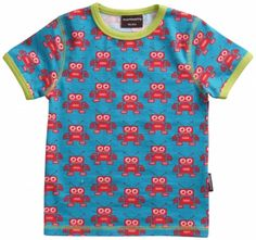 Maxomorra Robot T-shirt - Short Sleeves available at Trendy Tots Boutique