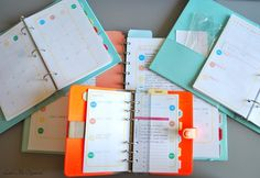 Pretty Well Organized: Why Use Multiple Planners?