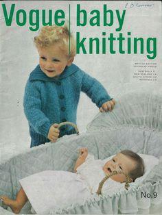 Baby Knitting Patterns, Crochet Patterns, Knitting Books, Crochet Projects, Knit Crochet, Vogue, Children, Knits, Crafts