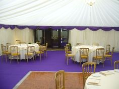 Purple carpet - #marqueehireuk #marqueehire #Notts #Derby #Leicester #weddings #corporate #events