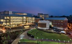 Genome Sciences Building by Skidmore, Owings & Merrill at University of North Carolina (UNC) in Chapel Hill