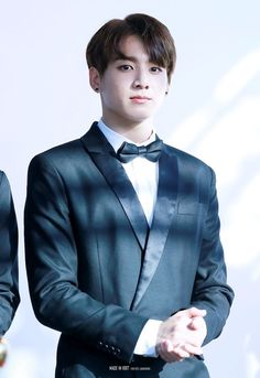 we are bulletproof Jungkook oppa will u merry me?  HE LOOK SO HOT WITH THAT SUIT IF HE GO TO THE WEDDING PARTY!
